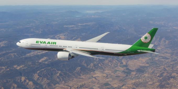 3. EVA Air – Тайвань.