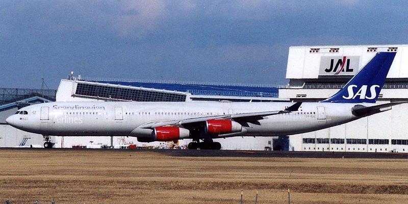 47. SAS – Scandinavian Airlines – Скандинавские страны.
