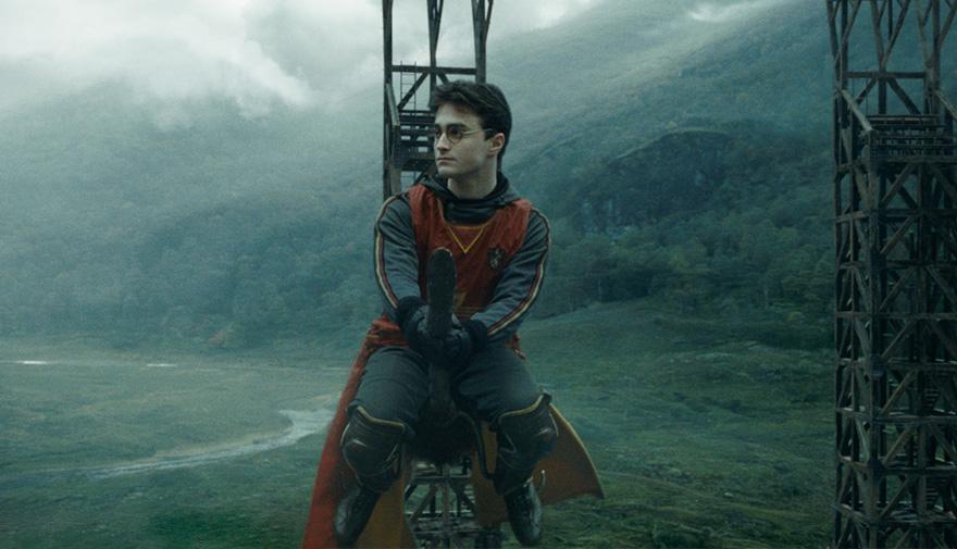 Гарри Поттер и Принц-полукровка - на экране.