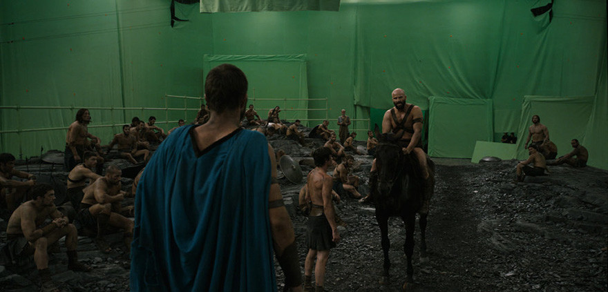 38. 300 спартанцев: Расцвет империи - съемки.