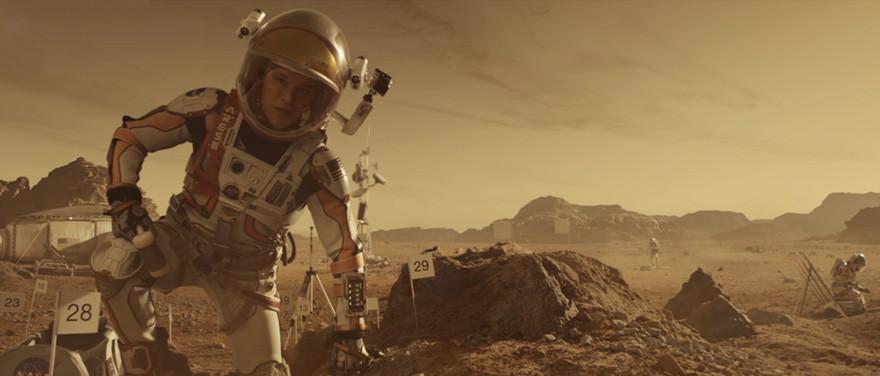 Марсианин - на экране.