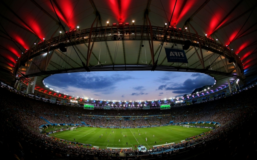 1. Стадион Маракана, Рио-де-Жанейро, Бразилия.