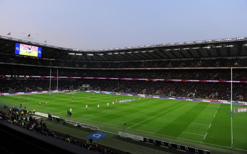 2. Стадион Туикенем Лондон, Англия.