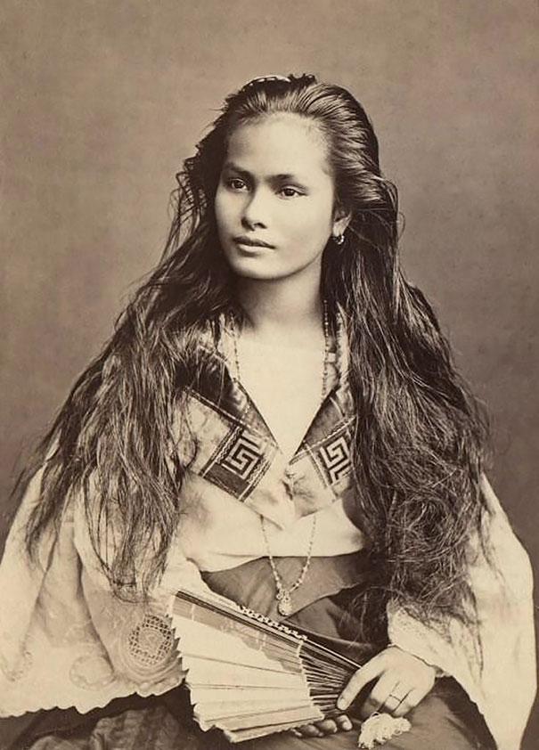 1. Филиппинка с острова Лусон.
