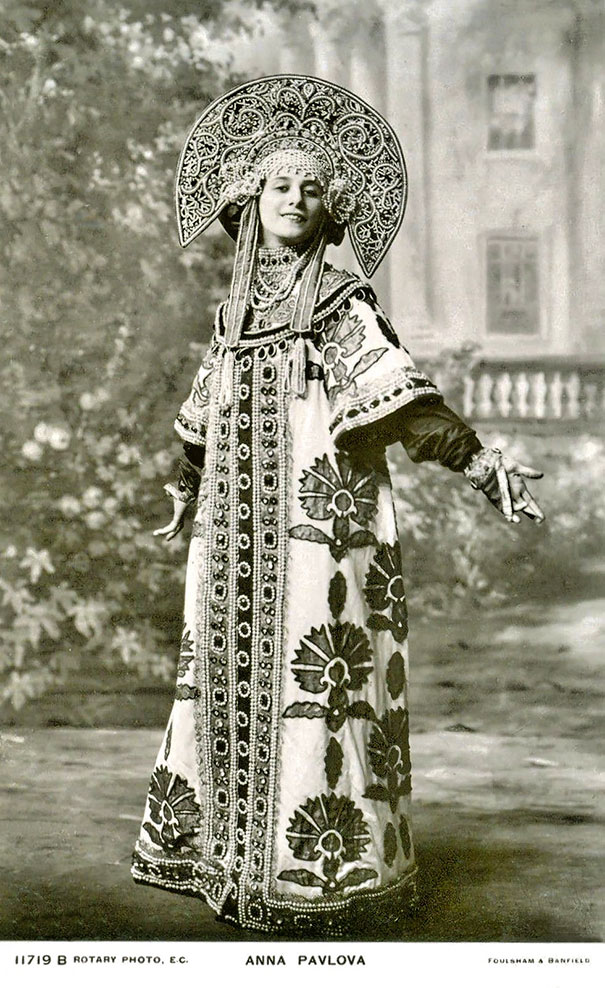 11. Анна Павлова - русская прима-балерина.