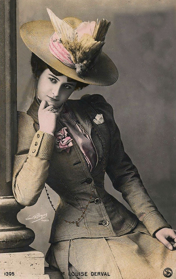 17. Актриса Louise Derval.