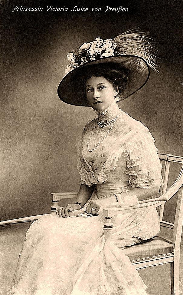 24. Виктория Луиза Прусская - дочь германского императора Вильгельма II.