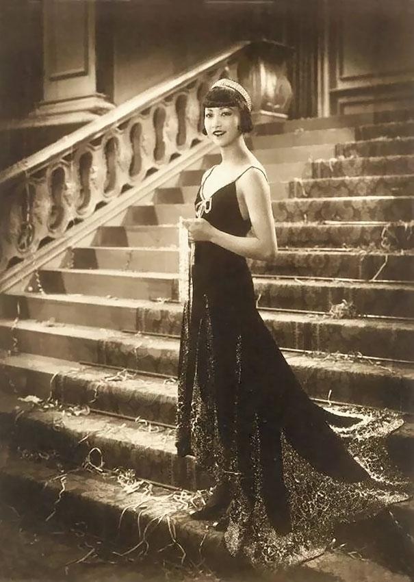 4. Анна Мэй Вонг – первая американская актриса китайского происхождения, которая добилась международного признания.