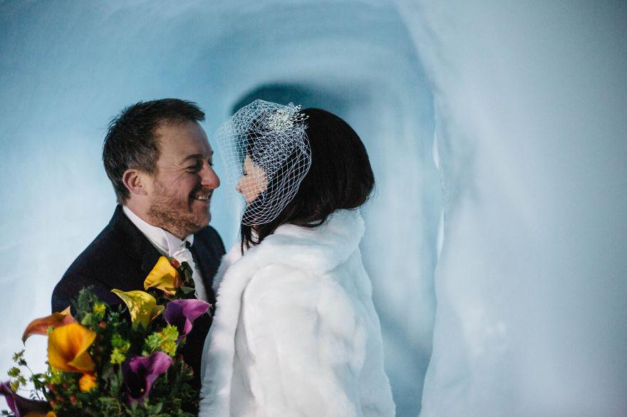 3. Но несомненно эта свадьба навсегда останется в их памяти.
