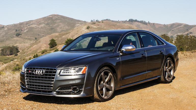 3. Audi S8.
