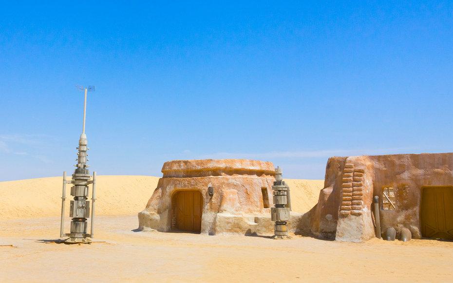 1. «Звездные войны», Татуин – Таузар, Тунис.