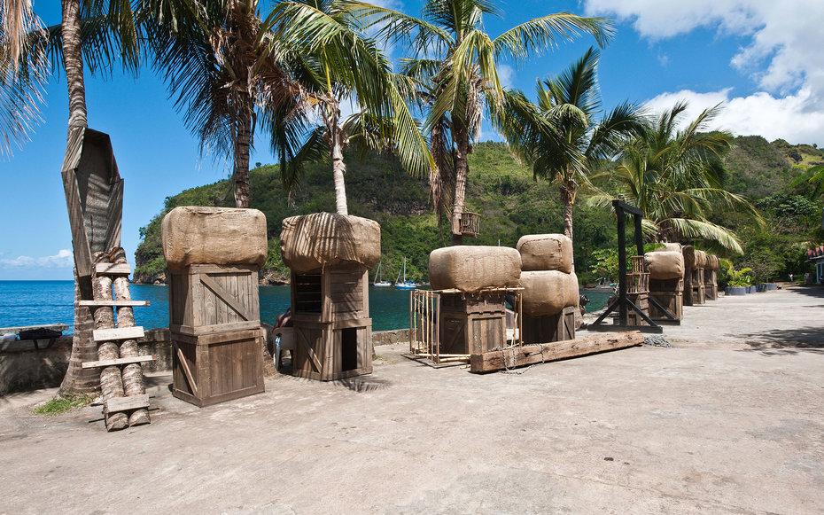 2. «Пираты Карибского моря», порт Роял – отель Wallilabou, Анкоридж, остров Сент Винсент.