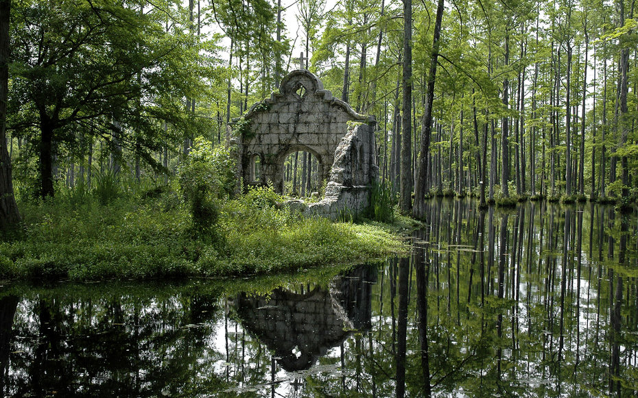 4. «Патриот» – Сады Cypress Gardens. Северная Каролина, США.