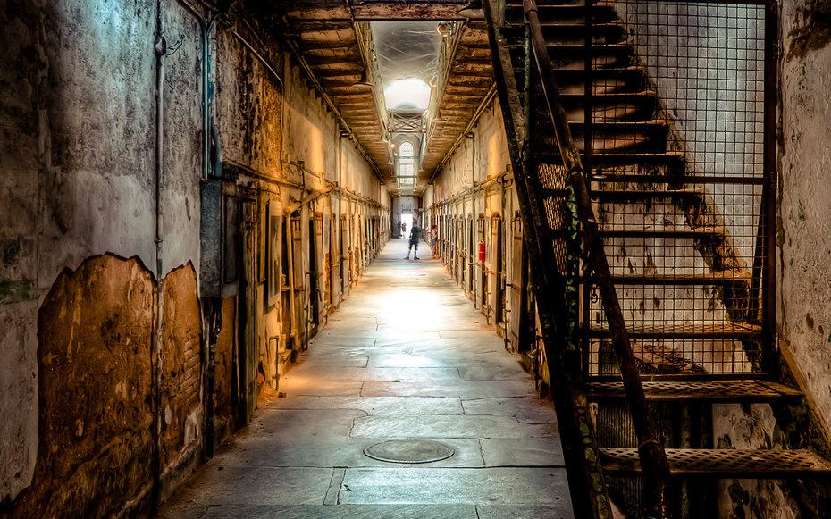 9. «12 обезьян» - тюрьма города Филадельфия, Пенсильвания, США.