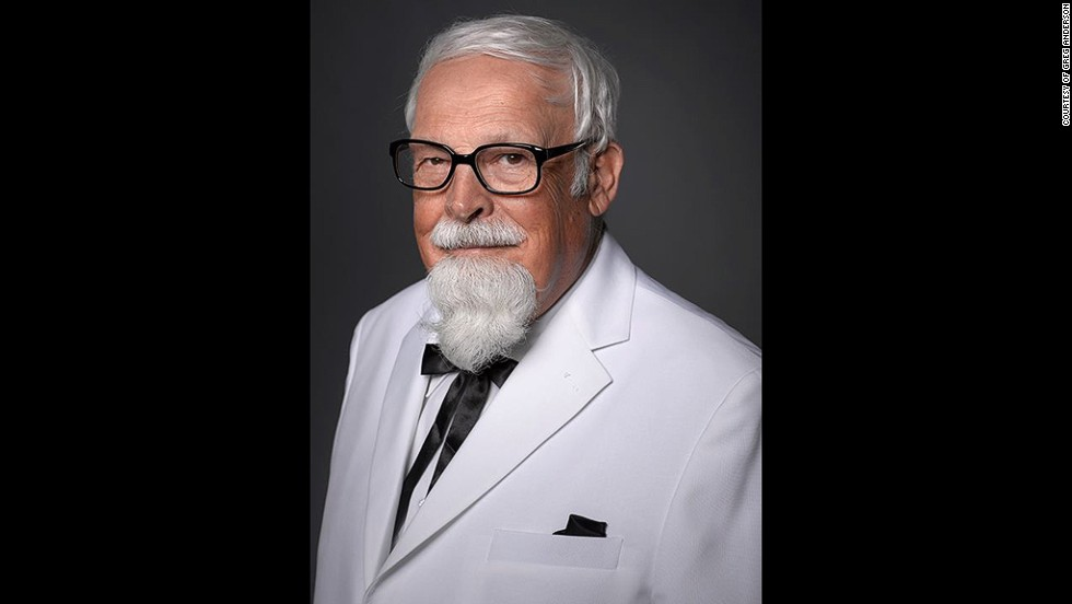 10. Такая борода может быть у профессора или у полковника Полковника Сандерса, того самого, создавшего KFC.