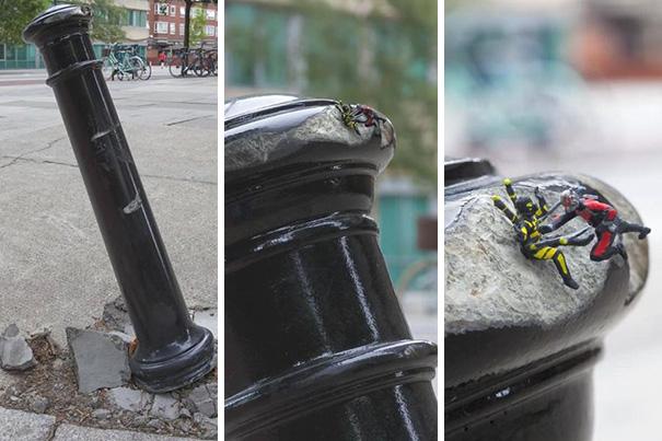 1. Человек-муравей против Желтого Шершня.
