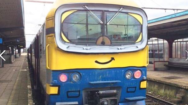 13. Веселый поезд.