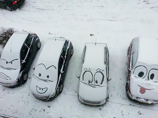 4. Зимний вандализм по-канадски.