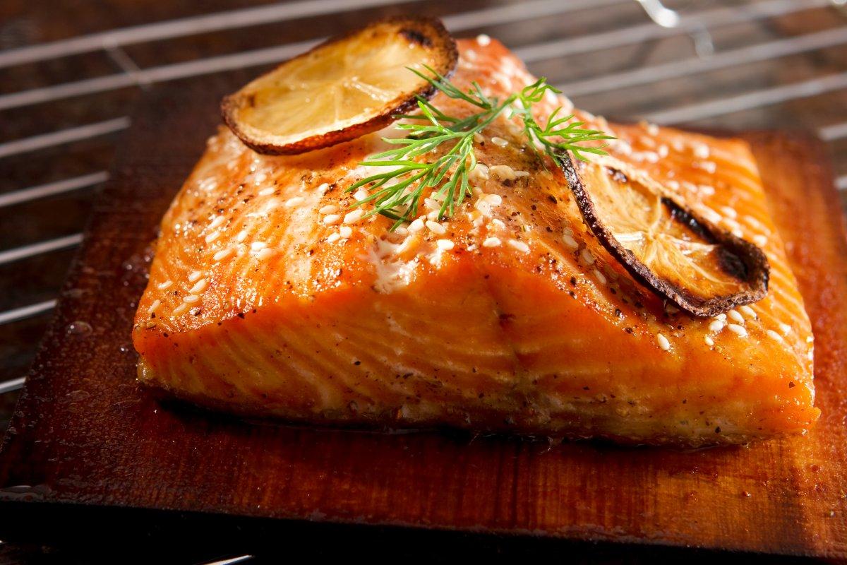 10. 8.30 вечера. 500 гр. лосося + 500 гр. сладкого картофеля.