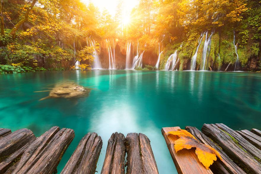 7. Плитвицкие озера, Хорватия.