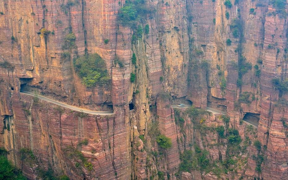 9. Тоннель Гуолян, Китай.