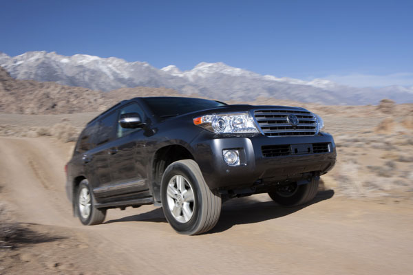 4. Toyota Land Cruiser.