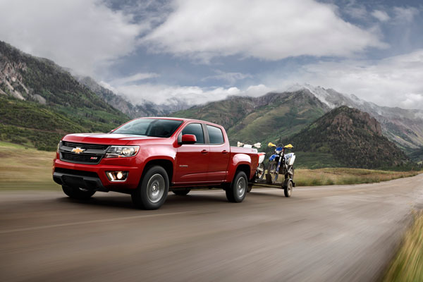 6. Chevrolet Colorado Z/71.