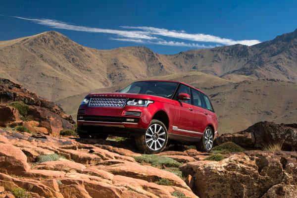 8. Land Rover Range Rover.