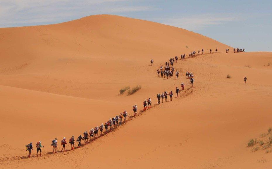 11. «Песчаный марафон».