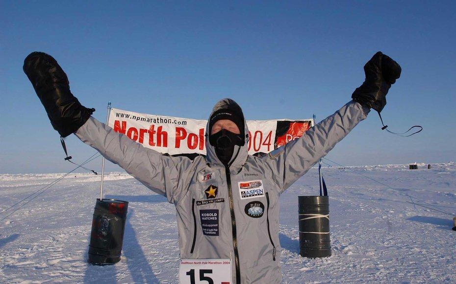 6. Марафон на Северном полюсе.