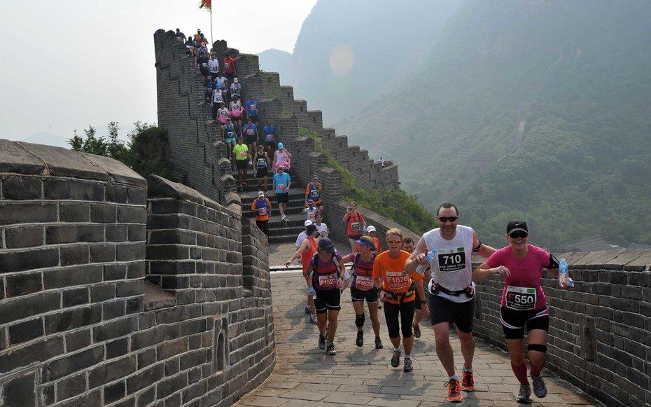 7.  Марафон по Великой Китайской стене.