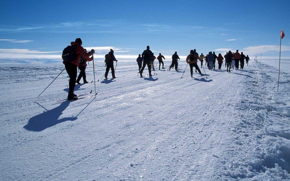 9. Антарктический марафон.