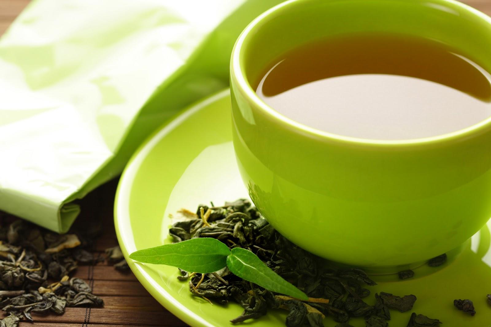10. Зеленый чай.