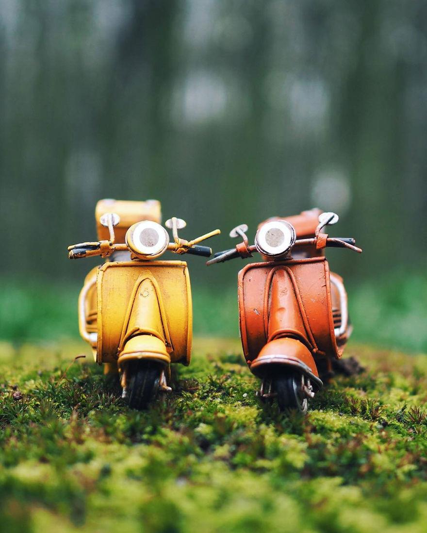 24. Маленькие скутеры.