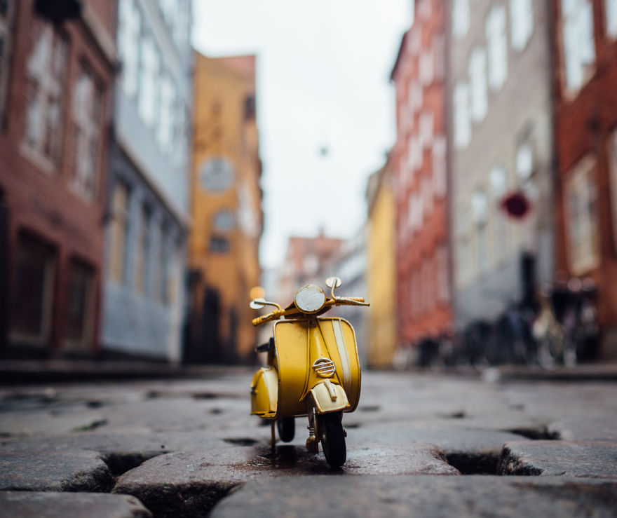 7. Прогулка по Копенгагену.