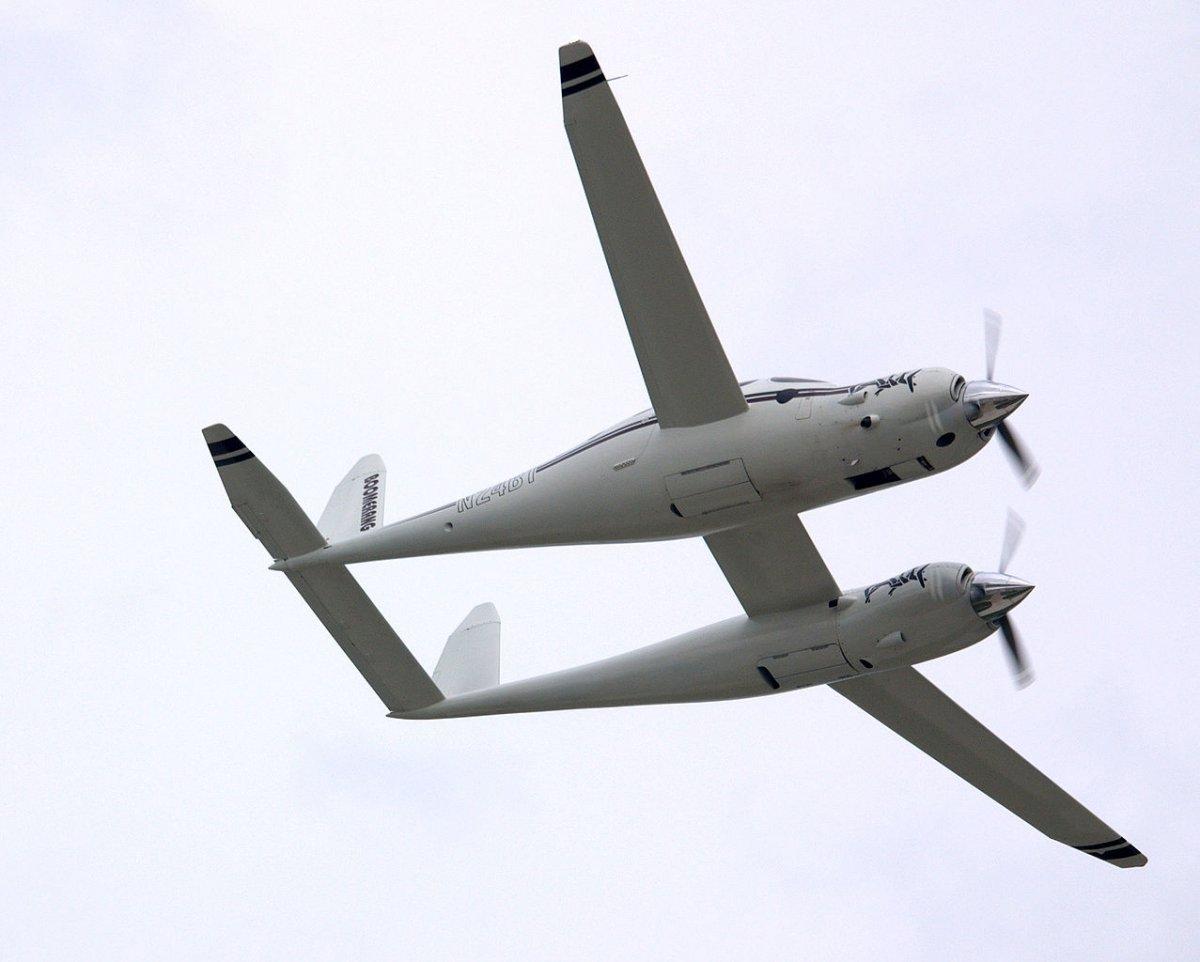 10. Rutan Boomerang.