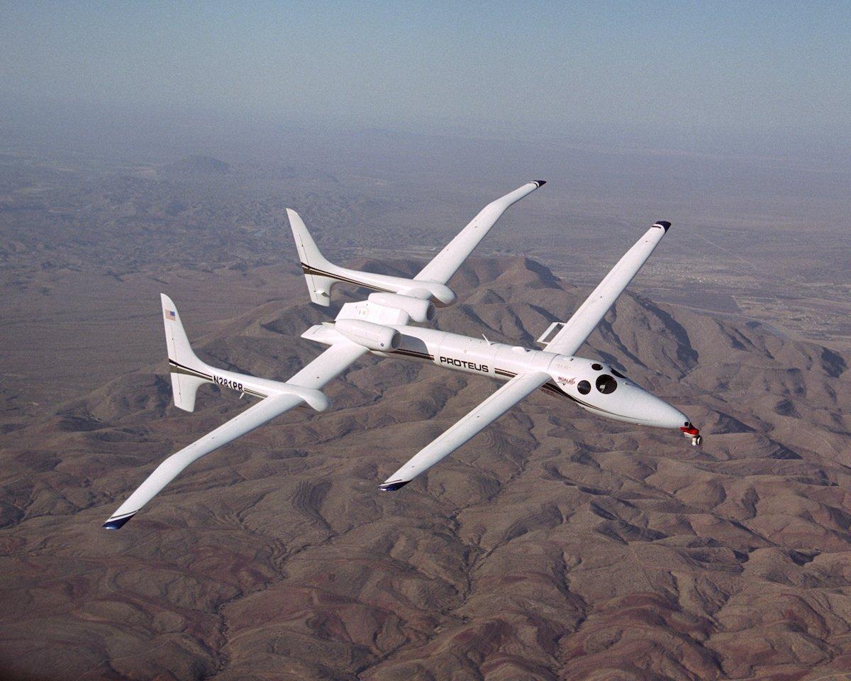 11. Proteus High-Altitude Aircraft.
