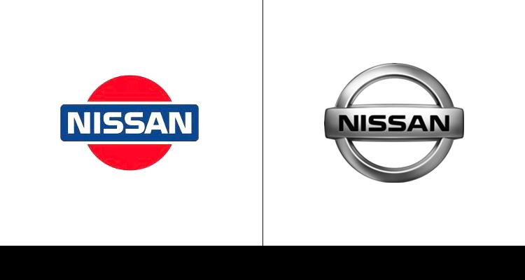 16. Первый логотип компании Nissan был создан в 1983 году, когда компания Datsun приняла новое имя.