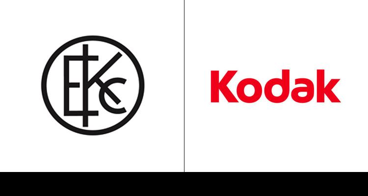 2. Первый логотип Kodak 1907 года. Самый последний редизайн логотипа компания провела в 2006 году.