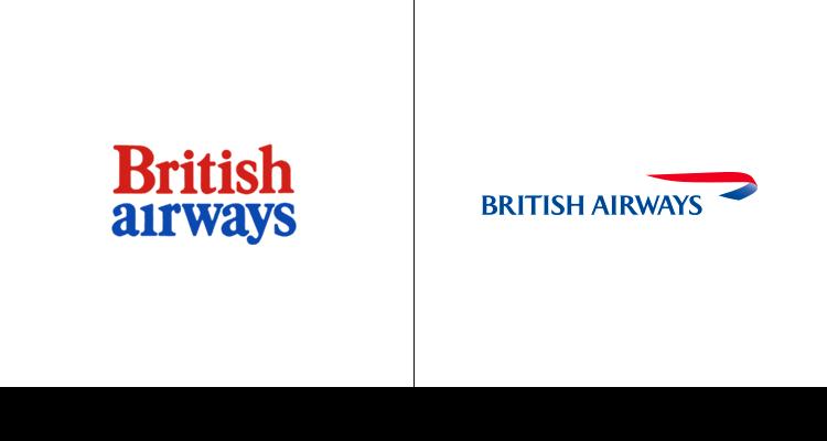 3. Логотип British Airways был разработан в 1973 году. Текущий логотип был создан в 1997 году.