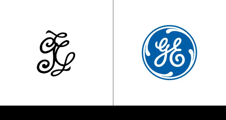 8. Простой логотип General Electric впервые был разработан в 1892 году. Круг был добавлен в 1900 году, а его синий оттенок добавился в 2004 году.