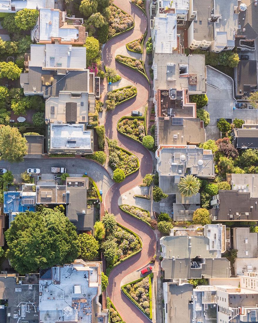18. «Ломбард-стрит», Сан-Франицско, США.