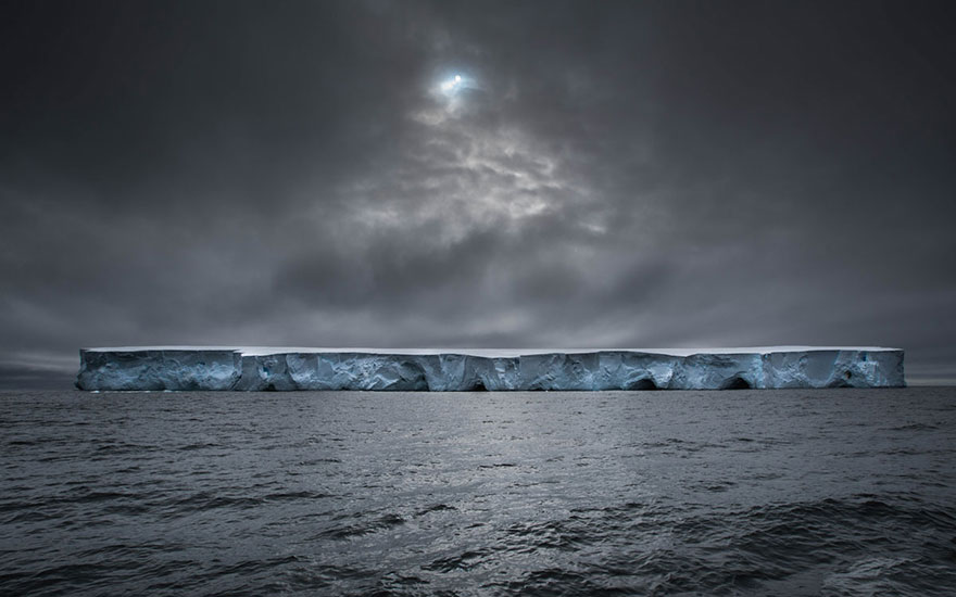 21. «Космический корабль», Антарктика.