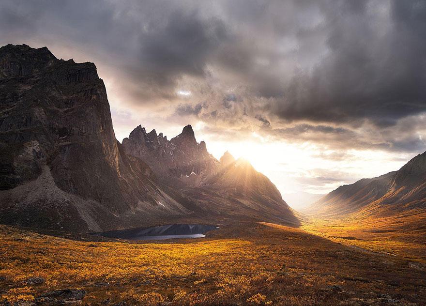 28. «Горы Юконы», Канада.