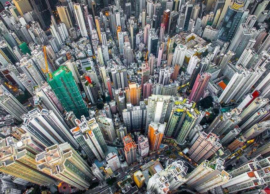 31. «Городские джунгли», Гонконг, Китай.