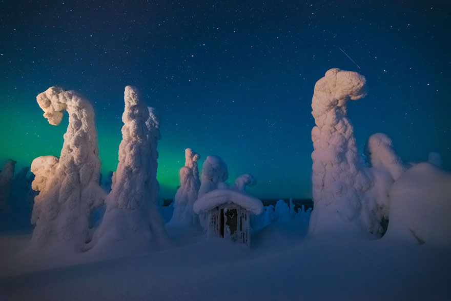 4. «Мистическая хижина», Финляндия.
