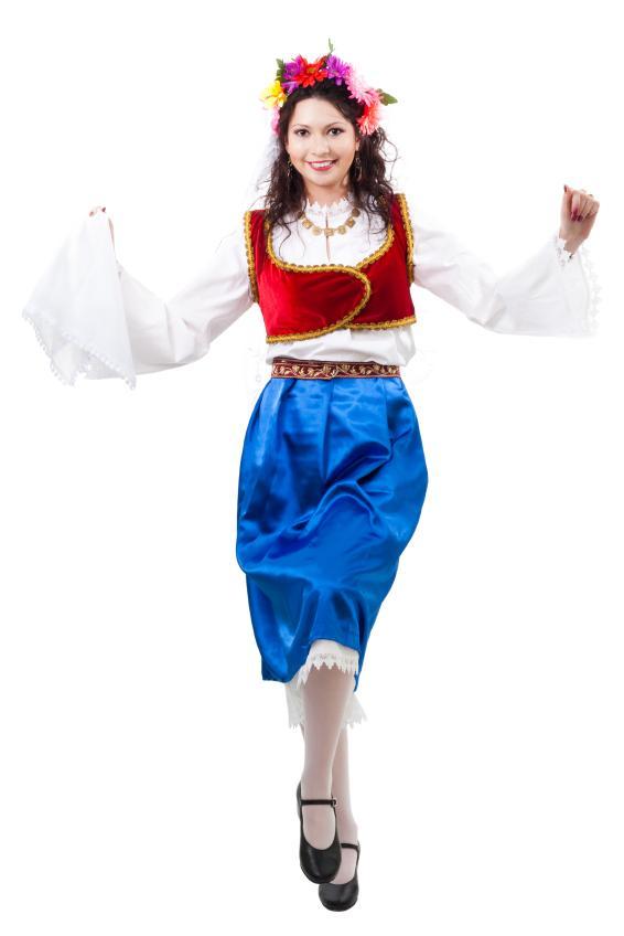 7. Греция имеет настолько богатую историю, что национальных костюмов в этой стране сменилось множество. Один из них показан на фото.
