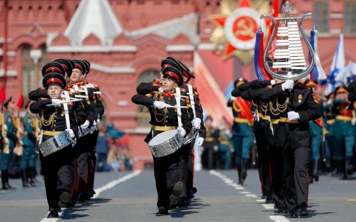 25. Военный оркестр.