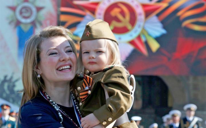 6. Атмосфера праздника царила на Красной площади.