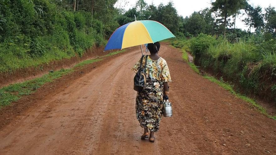 5. Дождь или нестерпимая жара – не имеет значения. Нужно идти.